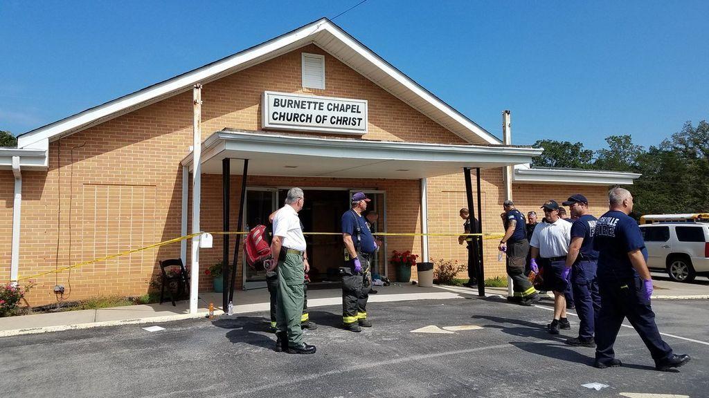 Seis personas heridas durante un tiroteo en una iglesia en Tennessee