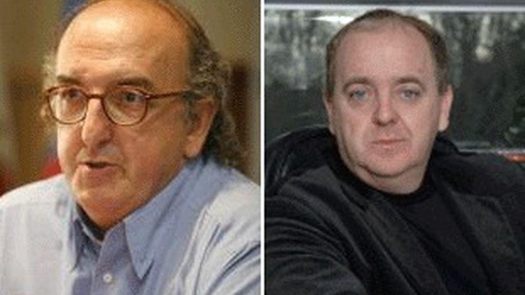 Jaume Roures (izquierda) y Javier Pons.