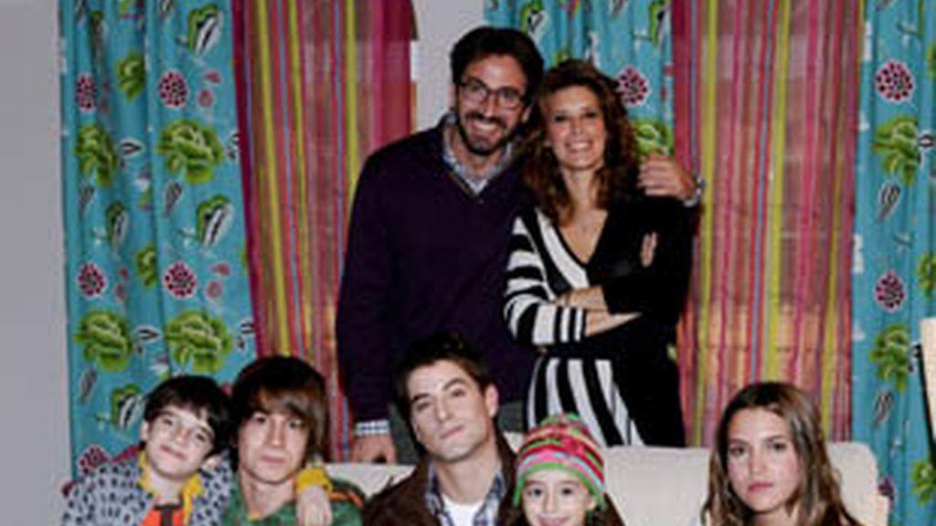 La familia protagonista de 'Los protegidos'.