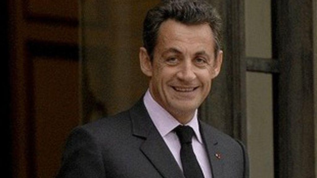 El presidente francés, Nicolás Sarkozy.
