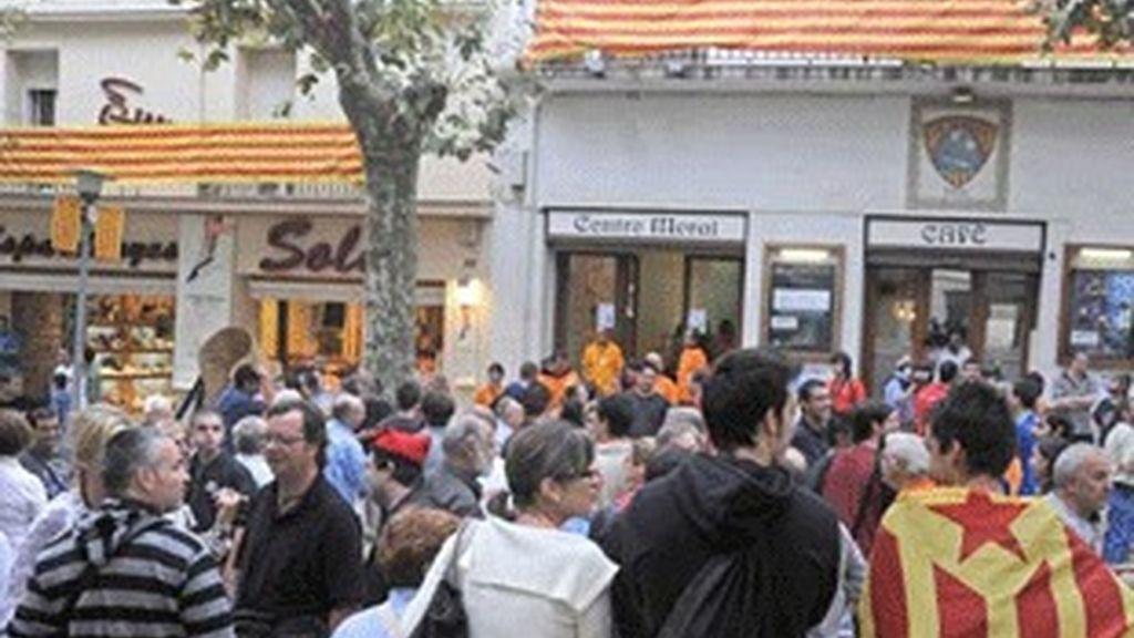 El municipio catalán de Arenys de Munt consulta sobre la autodeterminación de Cataluña.