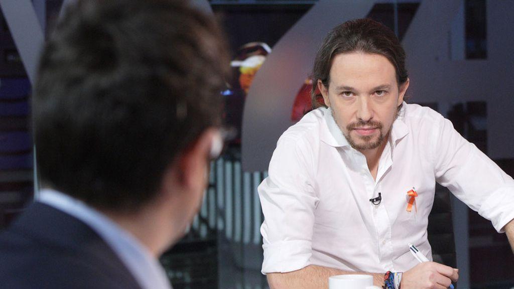 Pablo Iglesias en TVE