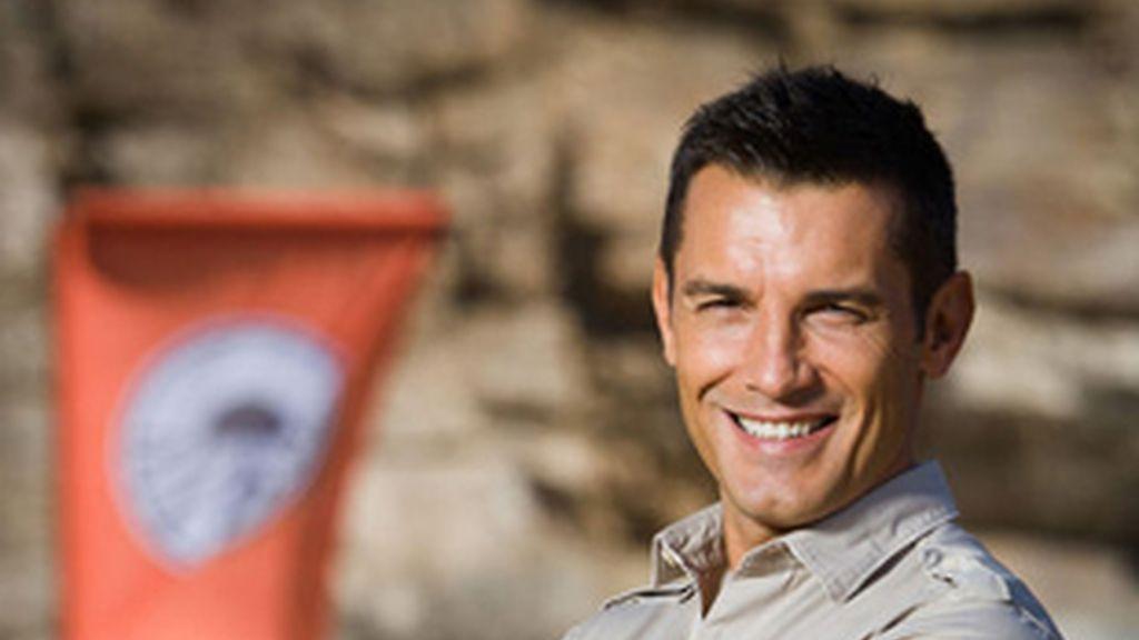 Jesús Vázquez, director de la carrera en 'Pekín Expréss 4'.