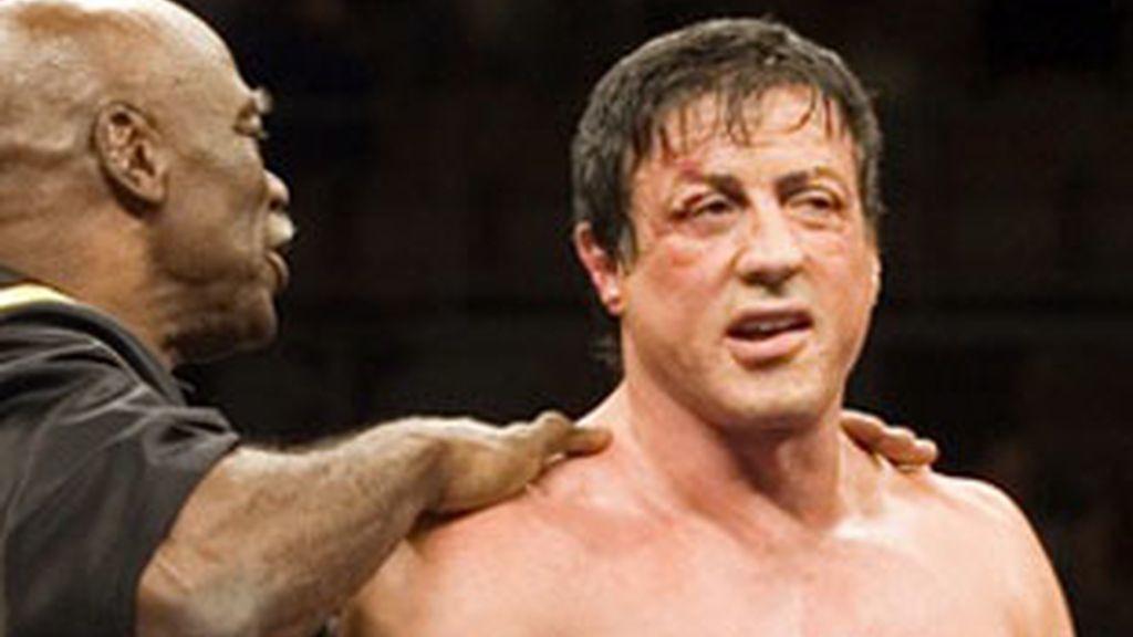 Sylvester Stallone, protagonista de la saga 'Rocky'.