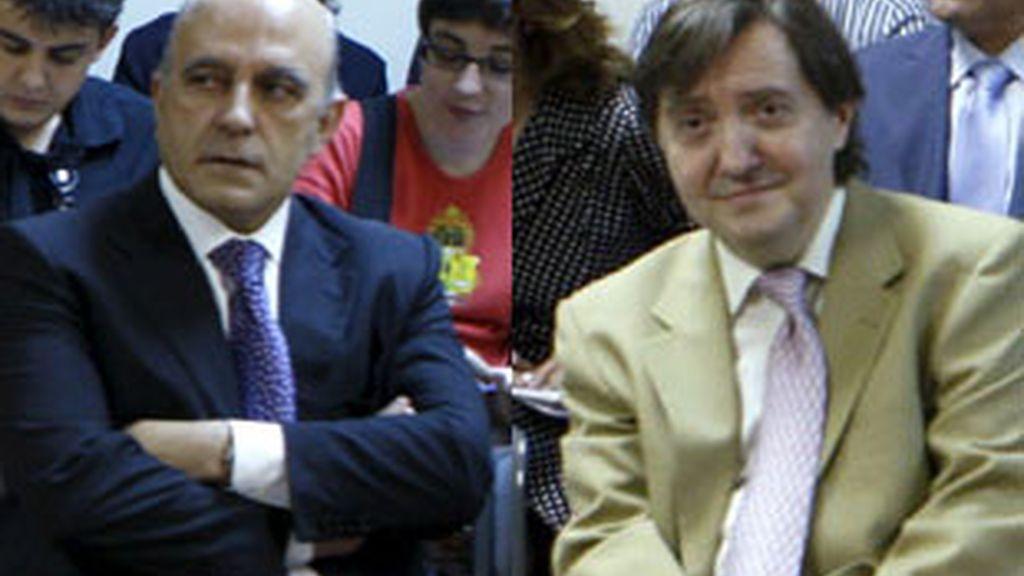 José Antonio Zarzalejos (izquierda) y Federico Jiménez Losantos.
