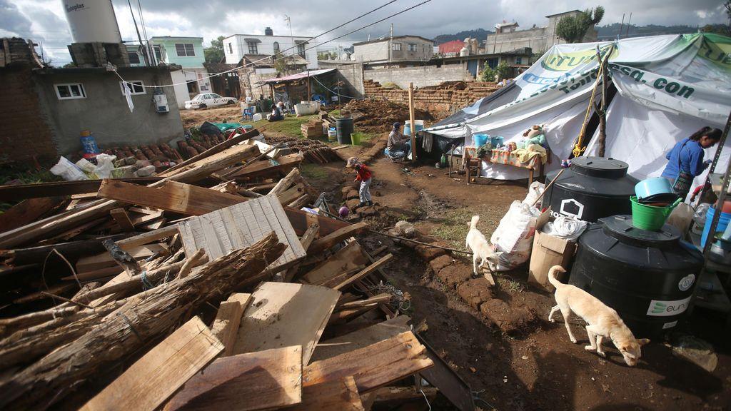 Una nueva réplica de intensidad 5,7 sacude el sur de México