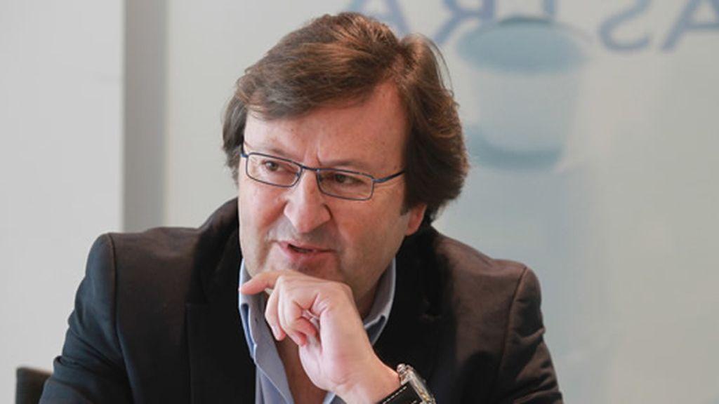 Luis Sahún, presidente Astra