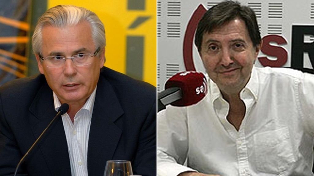 Baltasar Garzón y Federico Jiménez Losantos