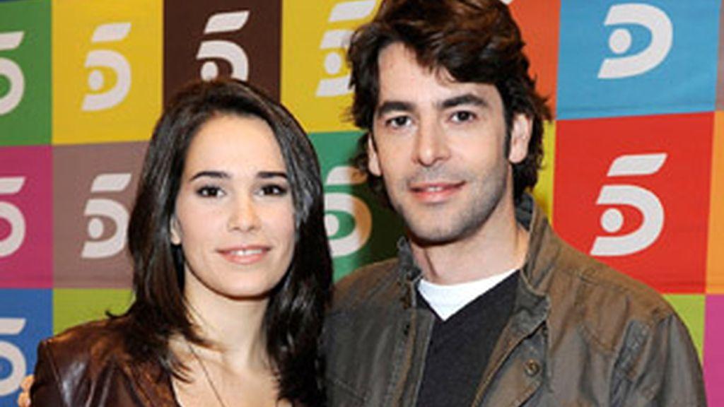 Celia Freijeiro y Eduardo Noriega, protagonistas de 'Homicidios'.