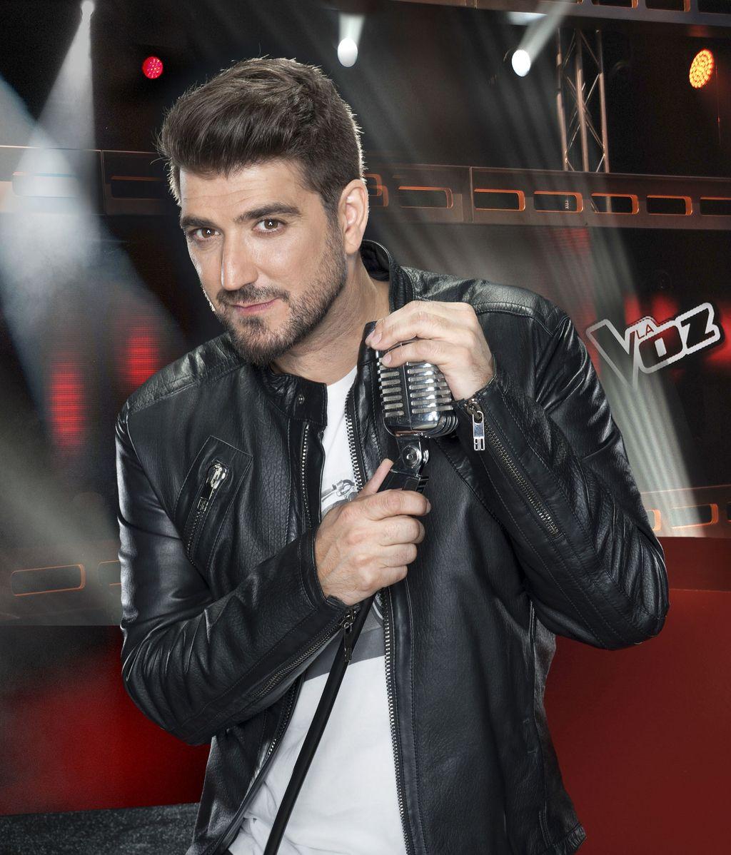 Antonio Orozco en La voz