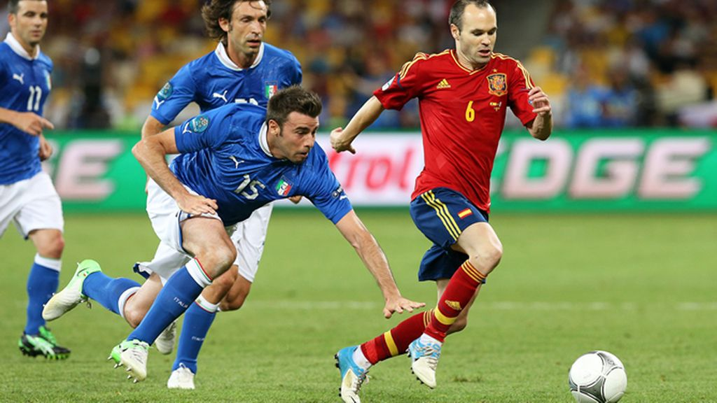 Iniesta, Eurocopa