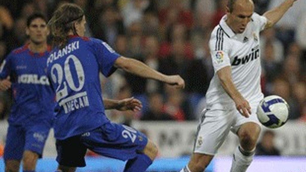 Imagen del Real Madrid-Getafe.