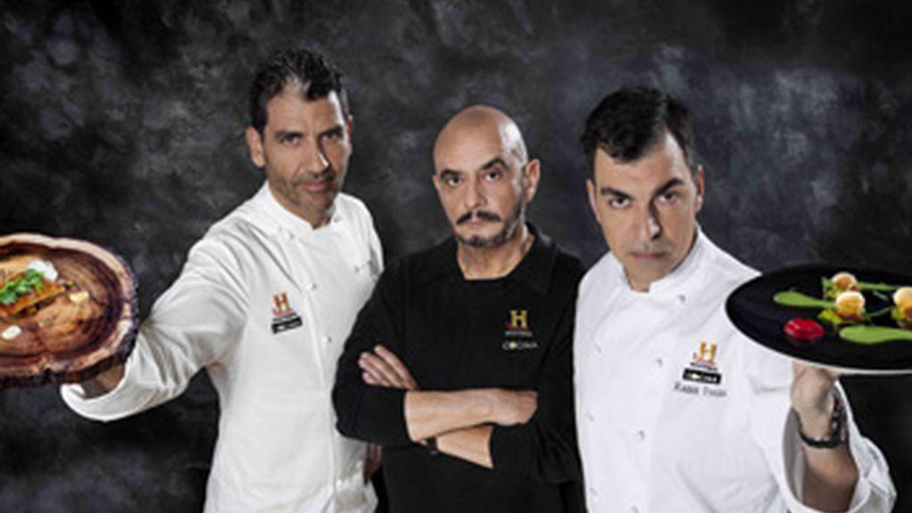 La Última Cena de estrellas Michelín, en Historia y Canal Cocina