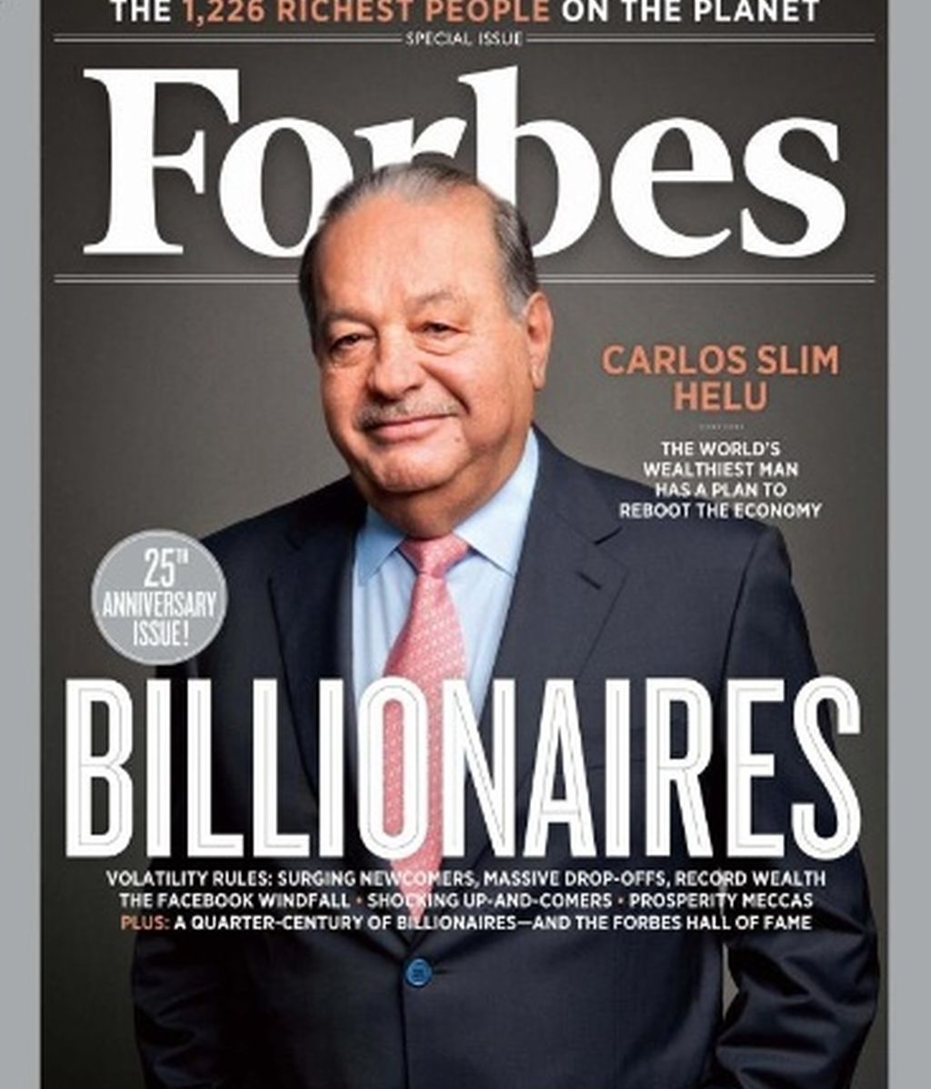 Forbes personas ricas