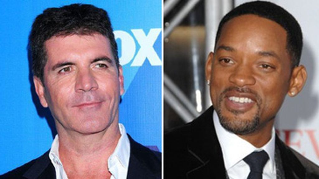 Simon Cowell y Will Smith