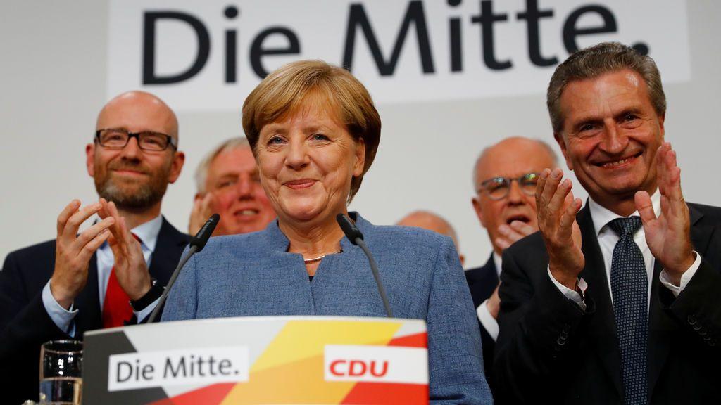 Las encuestas dan la victoria a Merkel y confirman el ascenso de la ultraderecha