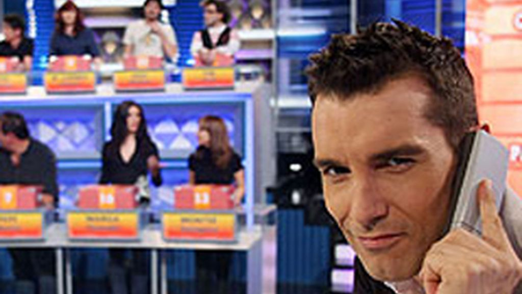 Jesús Vázquez, en 'Allá tú' (Telecinco).