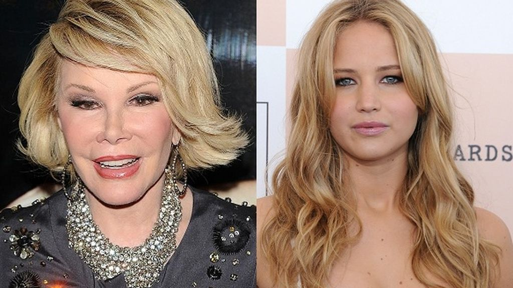 Joan Rivers y Jennifer Lawrence