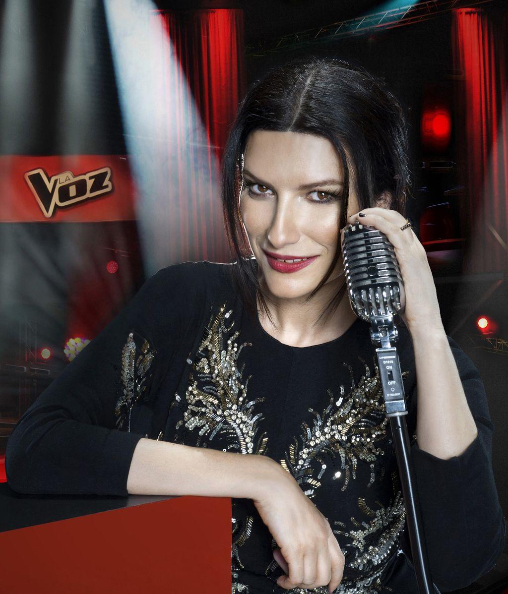 Laura Pausini en La voz