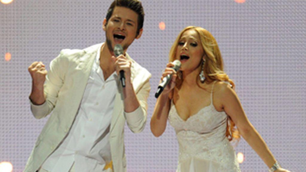 Los ganadores de Eurovisión 2011.