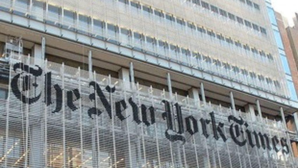 La sede del diario New York Times.