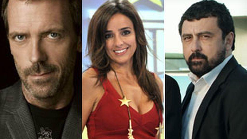 'House' (Cuatro), Carmen Alcayde, presentadora de 'Guiness world records' (Telecinco) y 'Los hombres de Paco' (Antena 3).