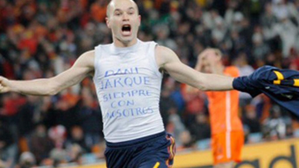 La prórroga de la final de Sudáfrica 2010, en la que Andrés Iniesta marcó el gol de la victoria para España, es la emisión más vista del año.