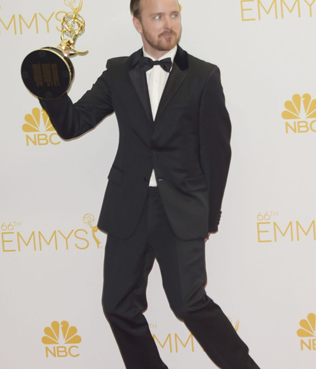 Aaron Paul, mejor actor de reparto en drama por 'Breaking bad'