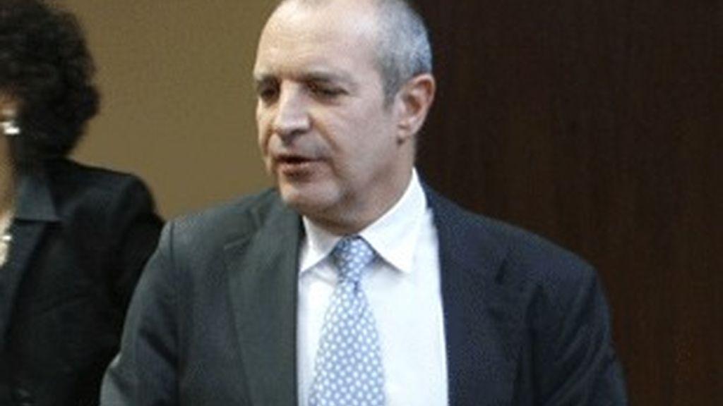 El presidente de la corporación RTVE, Luis Fernández