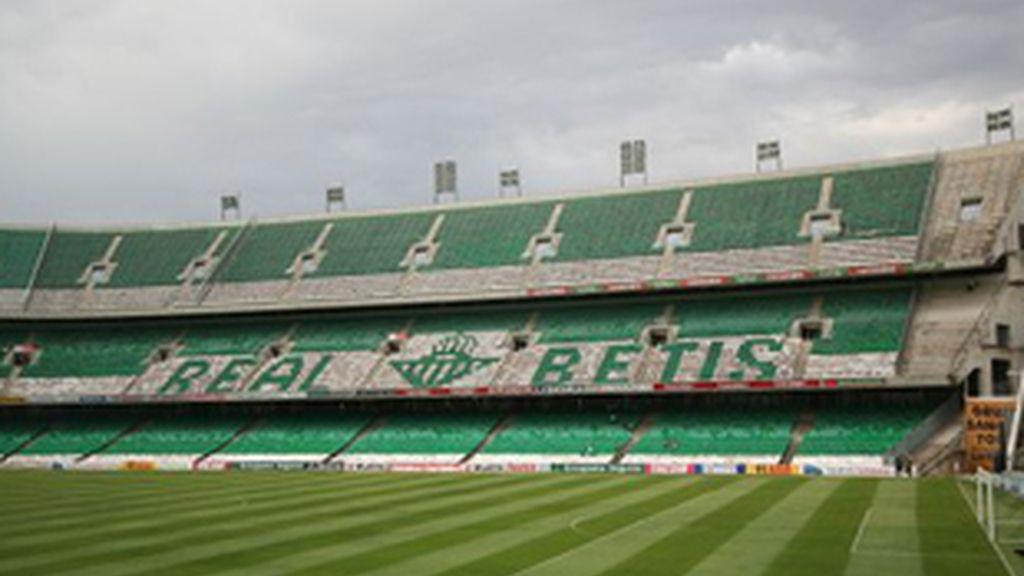 Imagen del estadio Benito Villamarín.
