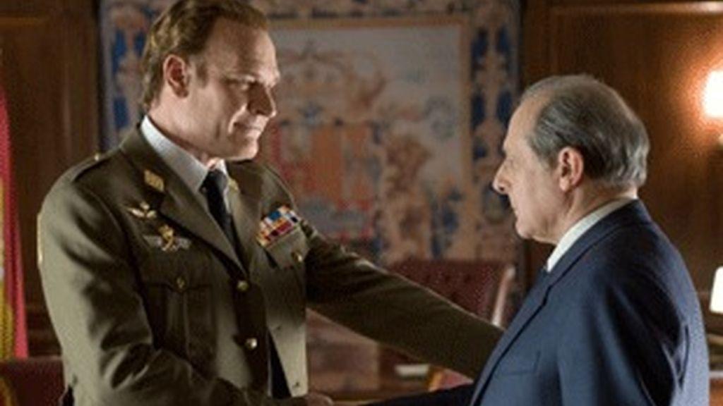 Miniserie de TVE '23F: el día más difícil del Rey', el estreno de mayor éxito de la temporada.