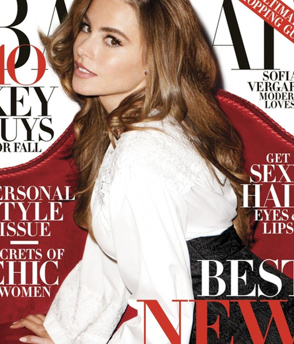 Sofía Vergara, portada de Harper's Bazaar