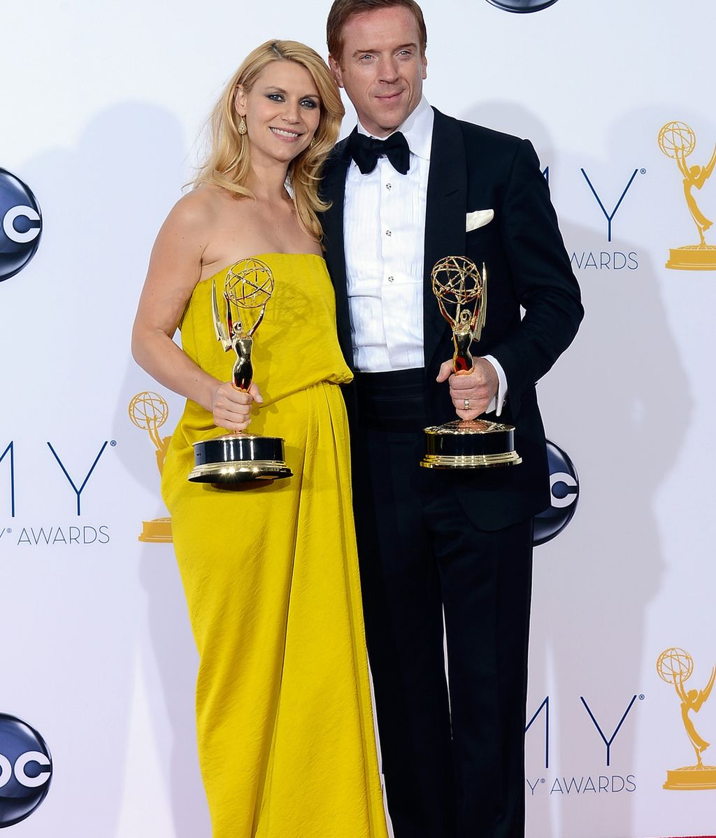 Homeland Claire Daines y Damian Lewis