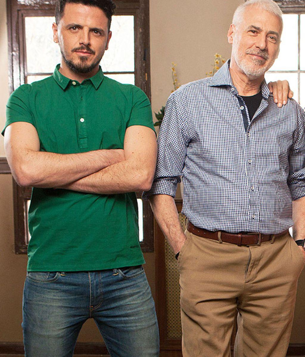 Jaime Zatarain es Eloy y Javier Paez es Mario
