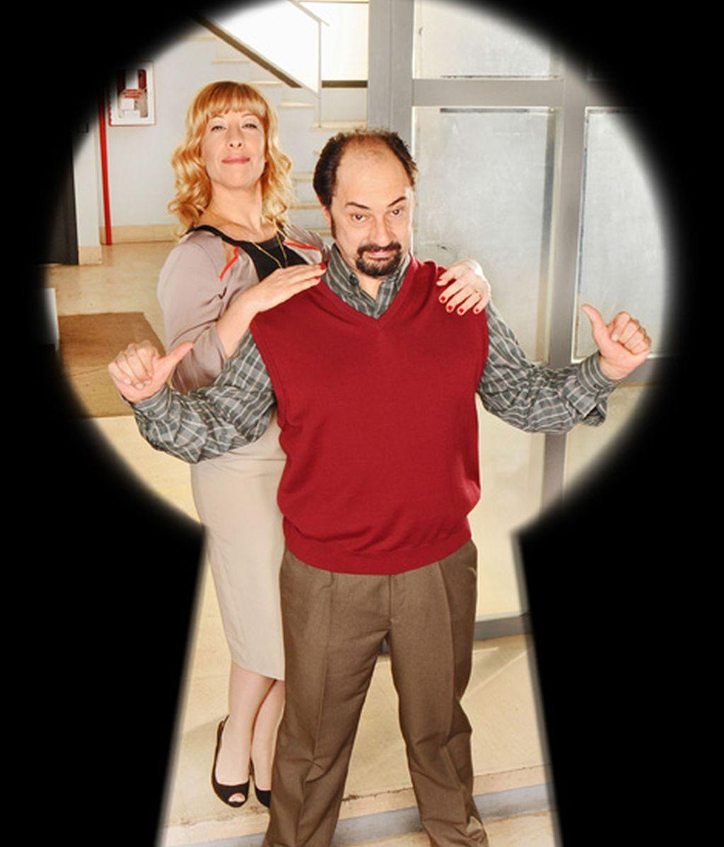 Nathalie Seseña y Jordi Sánchez son Berta Escobar y Antonio Recio