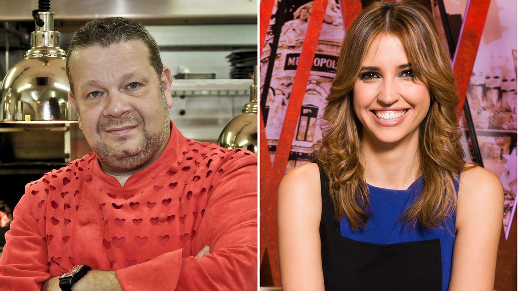 Alberto Chicote y Sandra Sabatés