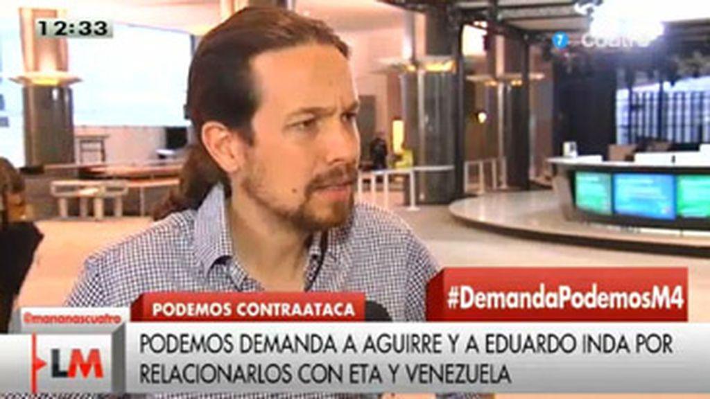 Pablo Iglesias en 'Las mañanas de Cuatro'