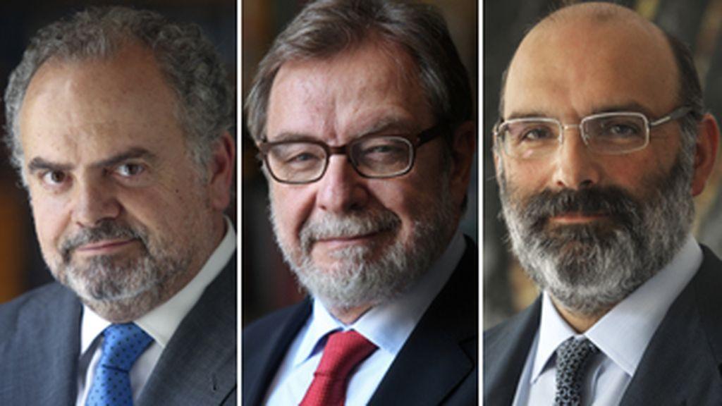 Ignacio Polanco, Jose Luis Cebrián, Fernando Abril-Martorell, PRISA