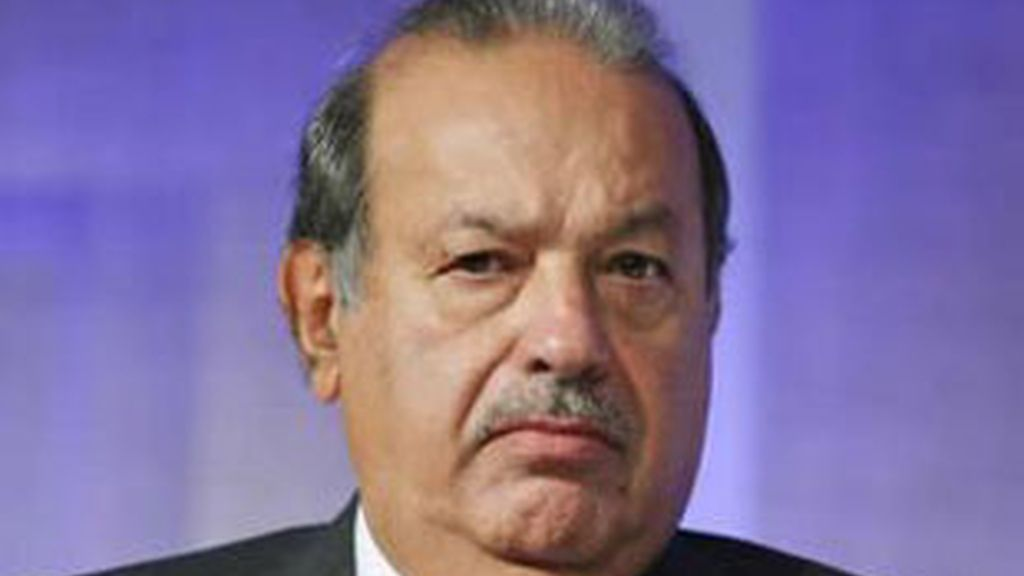El multimillonario mexicano Carlos Slim.