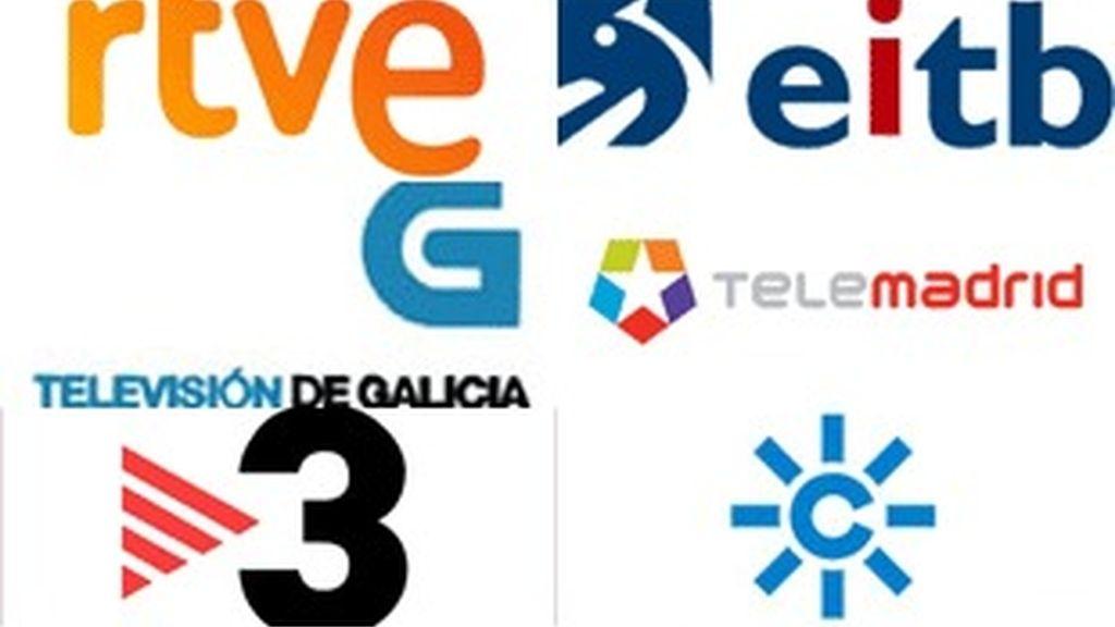 Estado y autonomías subvencionaron en 2008 a sus televisiones con 1.277 millones