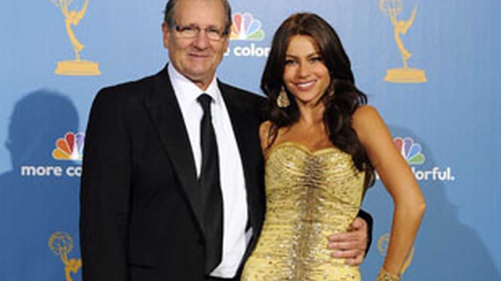 Ed O'Neill y Sofia Vergara, dos de los protagonistas de 'Modern Family'.