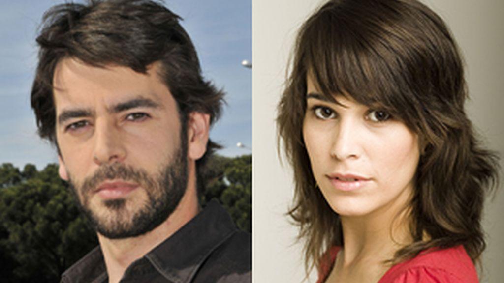 Eduardo Noriega y Celia Freijeiro.