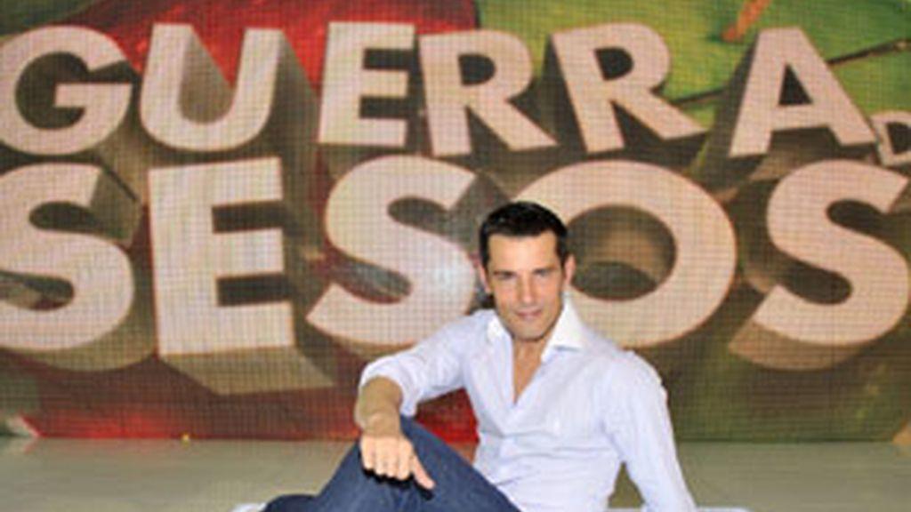 Jesús Vázquez, presentador de 'Guerra de sesos', Telecinco.