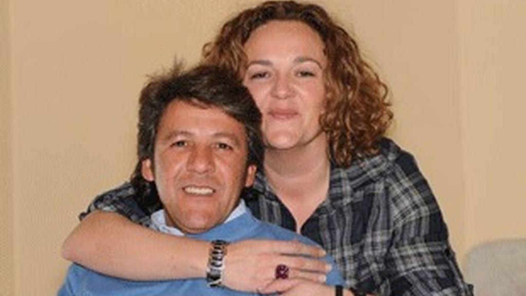 Los ganadores de 'Pekín Express', Carmela y Antonio.