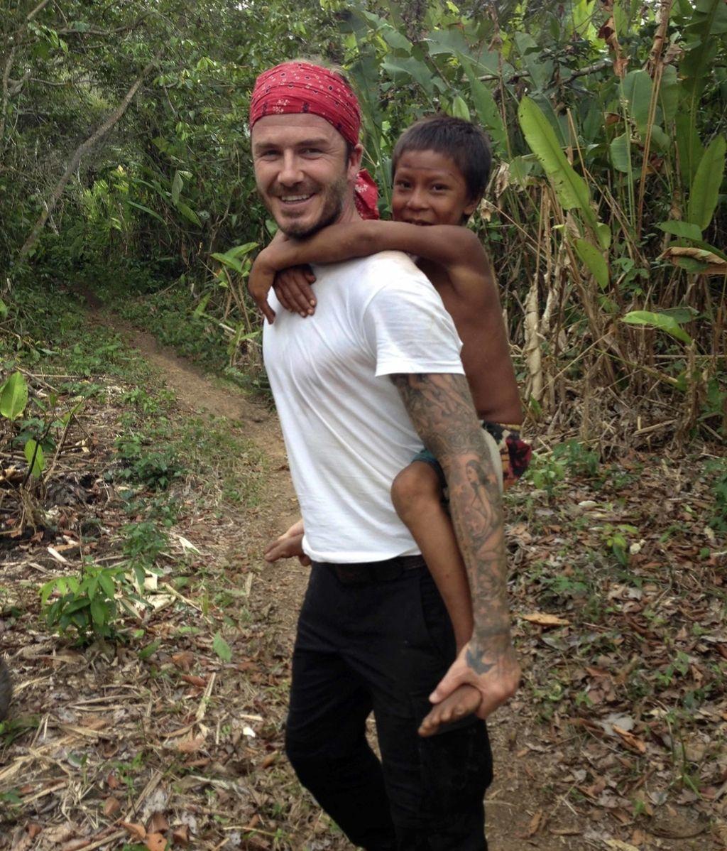 David Beckham en Brasil