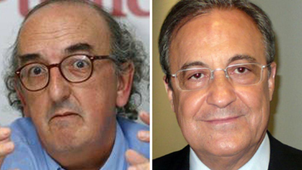 Jaume Roures y Florentino Pérez