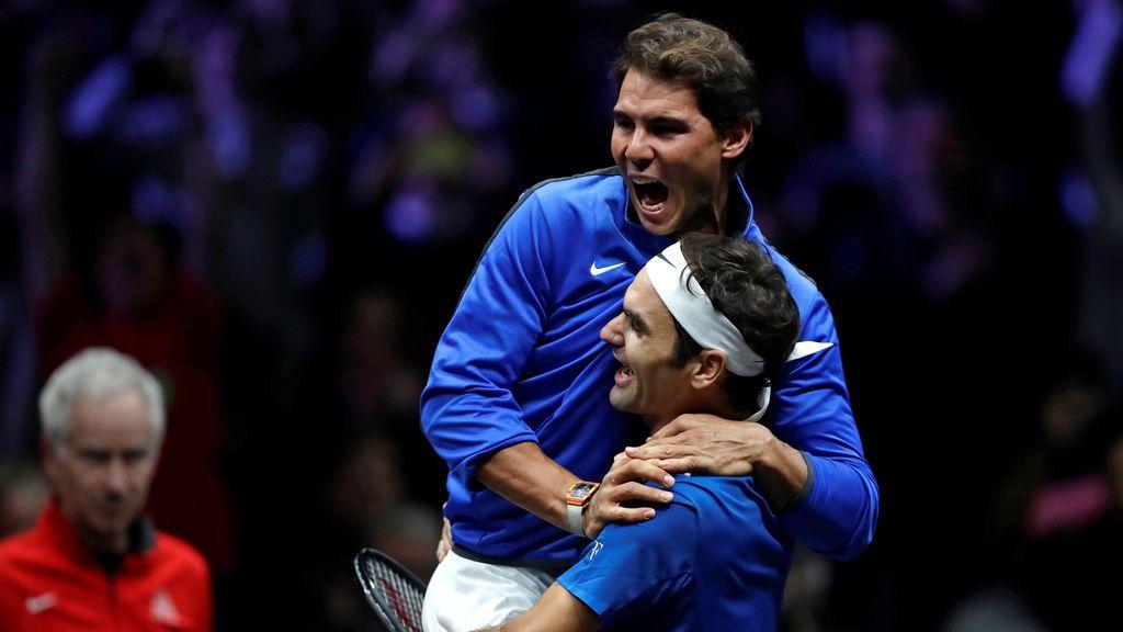 Nadal perdió, pero Federer dio la victoria a Europa en la Copa Laver