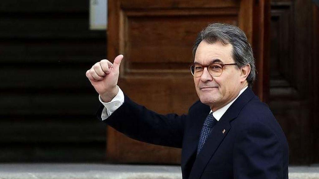 El Tribunal de Cuentas impone una fianza de 5,25 millones de euros a Mas por el 9N