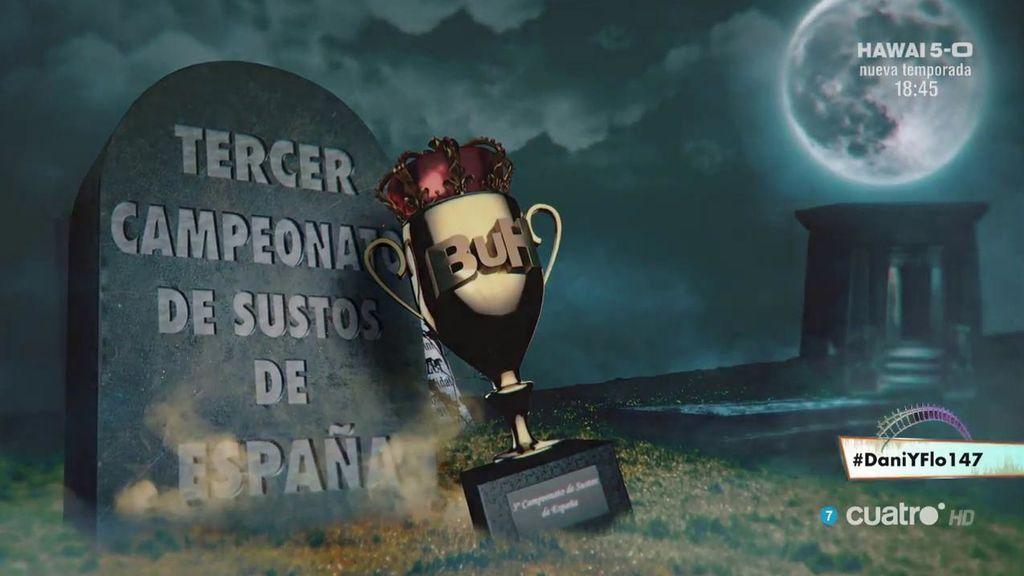 Tercer campeonato de sustos de España de 'Dani&Flo'