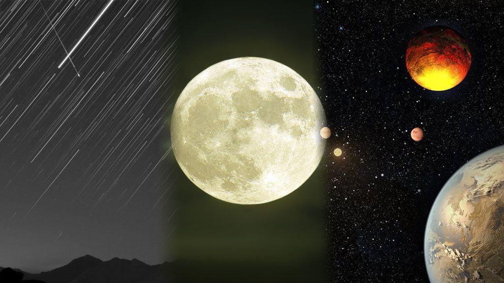 Lunas llenas, Dracónidas, Leónidas y Gemínidas: las citas citas de otoño con el cielo